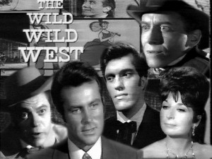 The Wild, Wild West TV Show from the 1960's.
