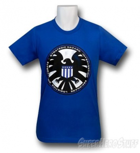 You can get your very own S.H.I.E.L.D. T-shirt!
